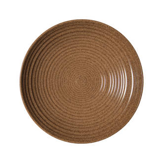Craft Chestnut Ridged Bowl Medium
