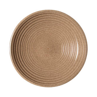 Craft Elm Ridged Bowl Large
