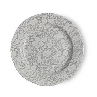 Dove Grey Calico Plate 19cm