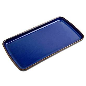 Imperial Blue Kitchen Rectangular Plate