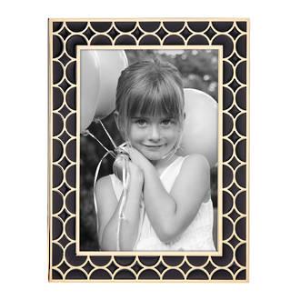 Circles Frame, Black & Gold 5x7