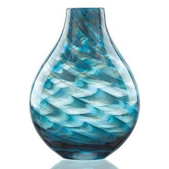Seaview Swirl Bottle Vase