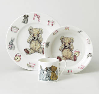 Teddy Time Gift Set - Pink