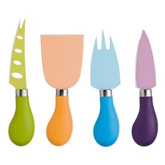 Cheese Knife Set 4pce