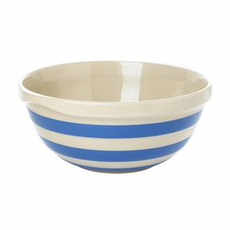 Cornish Blue Mixing Bowl Large