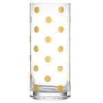 kate spade new york Pearl Place Gold Vase 25cm