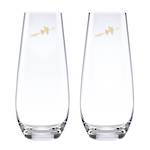 kate spade new york Two Hearts Stemless Toasting Flutes pr