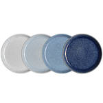 Studio Blue Medium Plate Set 4
