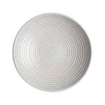 Studio Blue Ridged Bowl Medium - Chalk