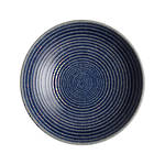 Studio Blue Ridged Bowl Medium - Cobalt
