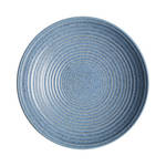 Studio Blue Ridged Bowl Large - Flint