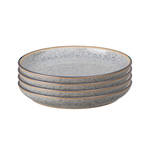 Studio Grey Medium Plate 21cm, Grey set of 4