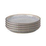 Studio Grey Medium Plate 21cm, Grey set of 4