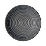 Studio Grey Small Ridged Charcoal Bowl 16cm