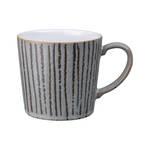 Denby Wax Stripe Grey Mug