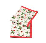 Alpine Strawberry Tea Towels Pair