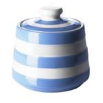 Cornish Blue Covered Sugar Bowl