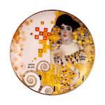 Adele Ltd Edition Plate, Klimt 21cm