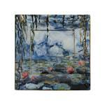 Monet Waterlilies Square Plate 16cm