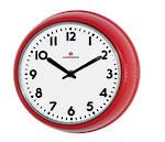 Red Retro Clock