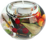 Birds of Paradise Round Tealight 9cm