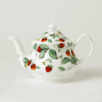 Alpine Strawberry Teapot