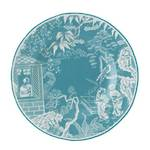 Mikado Plate - Turquoise