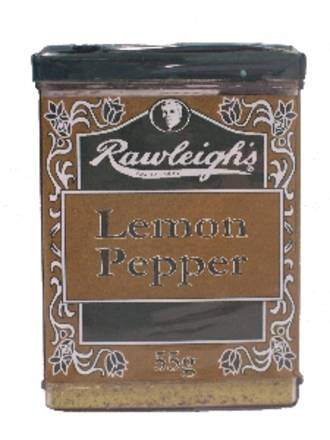 Lemon Pepper - 55g Shaker