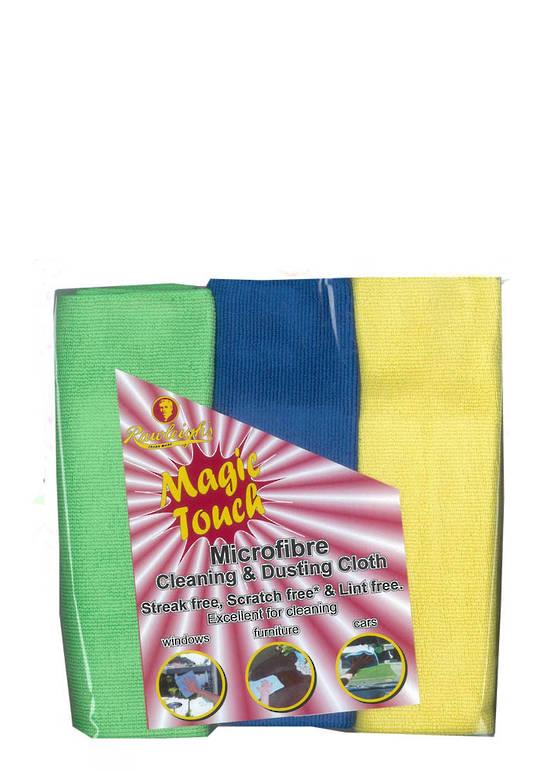 Magic Touch Microfibre Cloth - Triple Pack