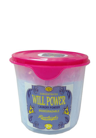 Will Power Laundry Powder - 2l pail with scoop