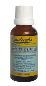 Head Clear - 30ml - Dated Stock Only