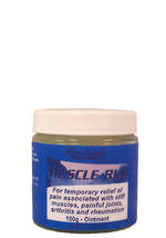 Muscle Rub - 100g - Due to supply issues out of stock in New Zealand only.