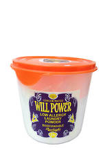 Will Power Low Allergy Washing Powder - 2kg pail with scoop