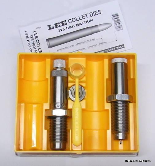 Lee Collet Die Set 375 H&H Magnum #90729