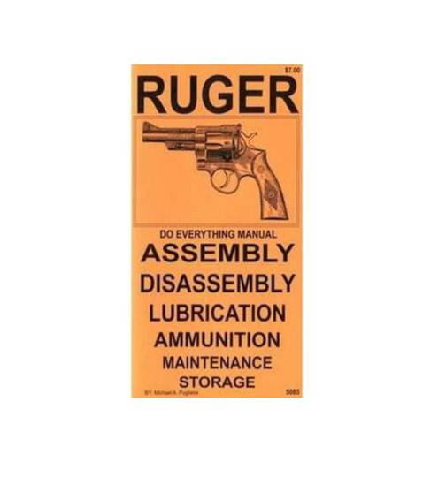 Do Everything Manual Ruger Revolvers