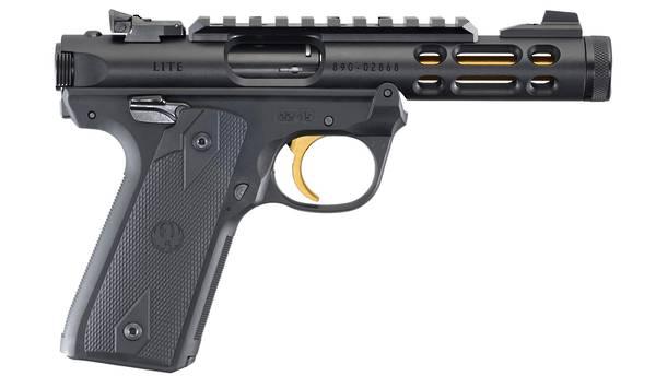"""Ruger MK4 22/45 Lite Black/Gold 4.4"""""""