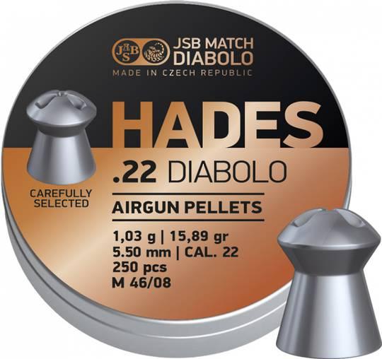 JSB Hades .22 15.89gr x500