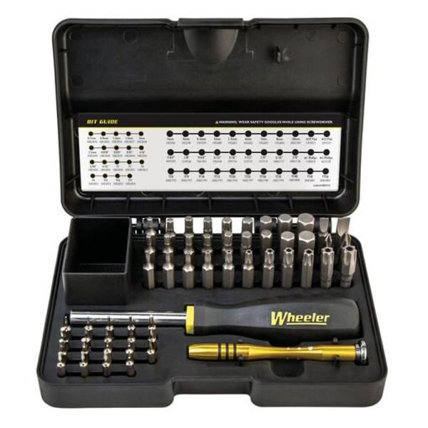 Wheeler SAE/Metric/Hex/Torx Screwdriver Set 55 Piece #1081958