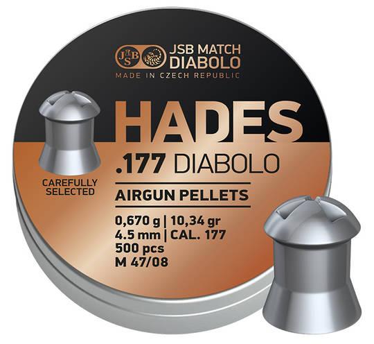 JSB Hades .177 10.34gr x500