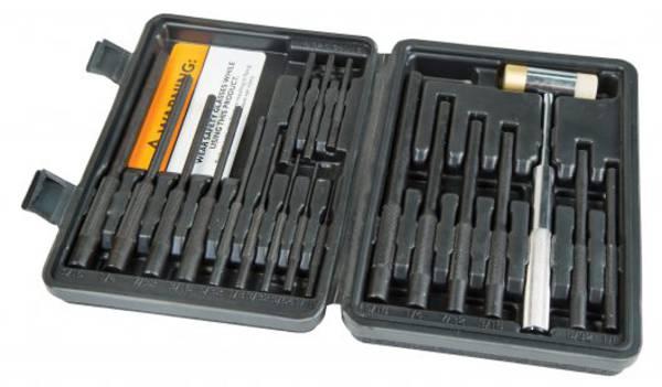 Wheeler Master Roll Pin Punch Set #110128