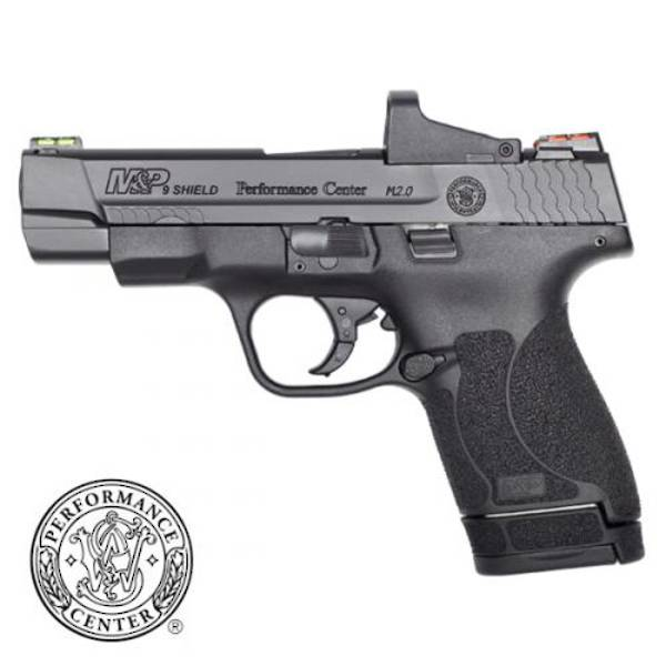 "Smith & Wesson Performance Centre M&P 9 Shield 2.0 4"" Ported Red Dot"