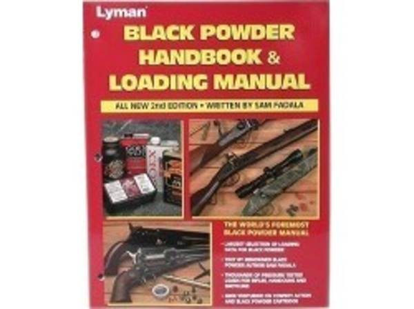 Lyman Black Powder Handbook and Loading Manual