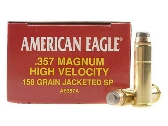 American Eagle 357 Magnum 158gr JSP 50 Rounds