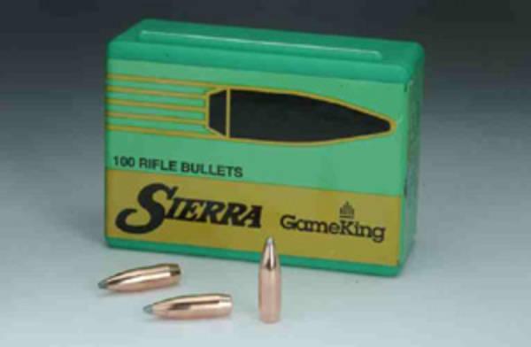 Sierra Gameking 25cal .257 120gr HPBT #1650