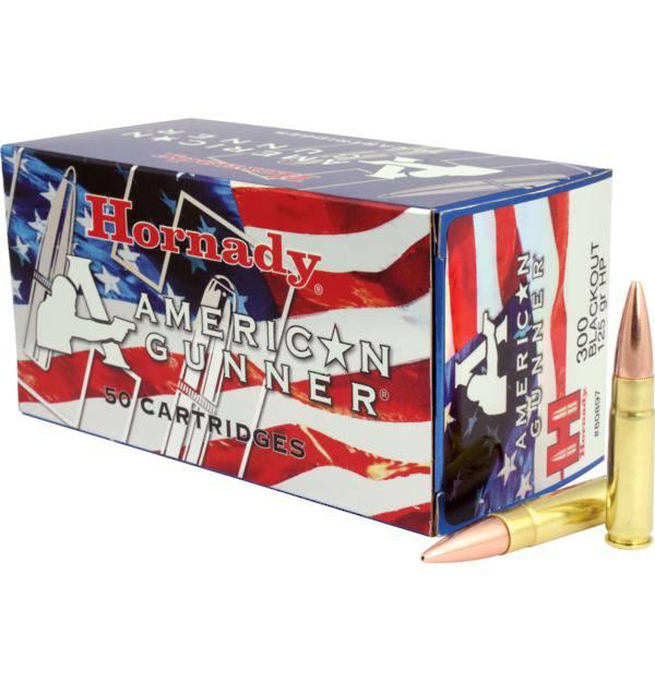 Hornady 300 Blackout 125gr x50 American Gunner