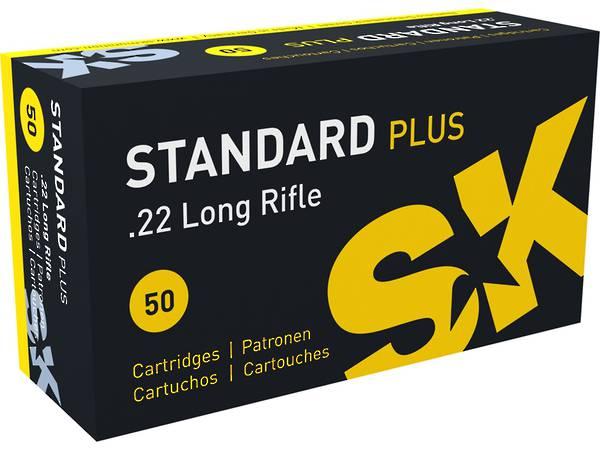 Lapua SK Standard Plus 22LR Target Ammo 500 Rounds