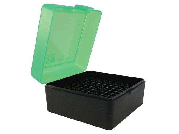 MTM Ammo Box RM-100-16T Green