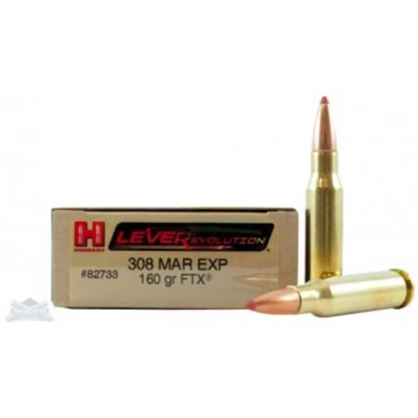 Hornady Leverevolution 308 Marlin Exp 160gr FTX 82733