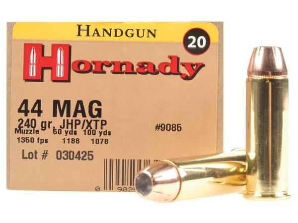 Hornady Custom 44mag 240gr XTP x20 #9085