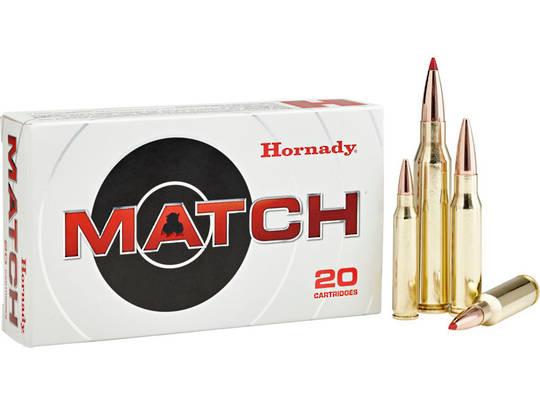Hornady Ammunition 308Win 168gr ELD-Match x20